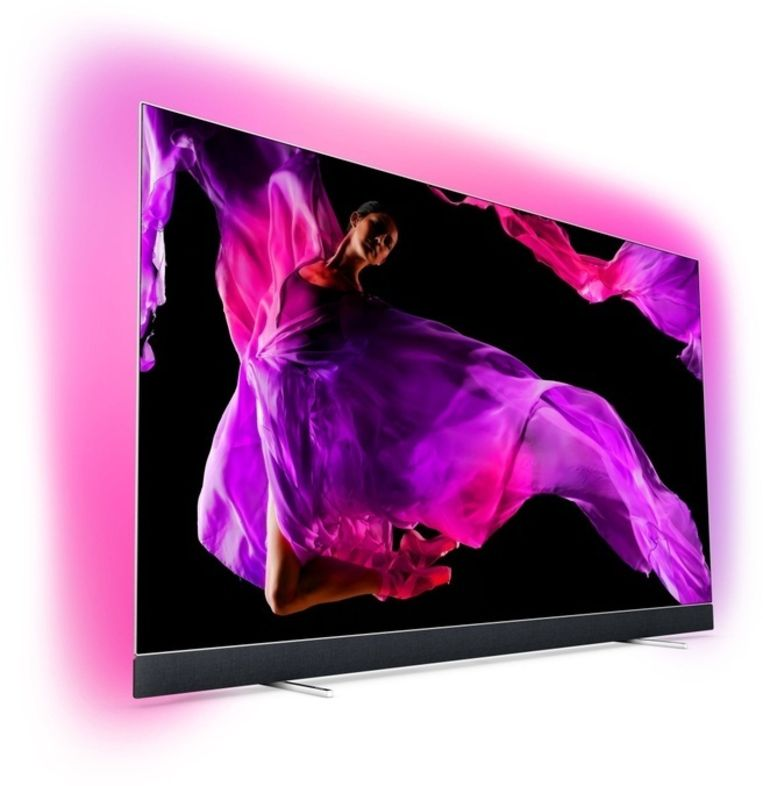 Philips' nieuwe toptelevisie.