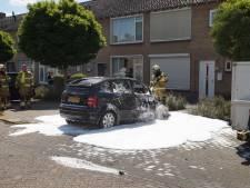 Auto brandt compleet uit in Oudheusden