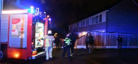 Brand in woning aan de Otmanlanden in Enschede snel onder controle