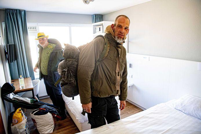 Vanwege de coronacrisis en de noodzaak om thuis te blijven worden daklozen tijdelijk ondergebracht in hotels in Scheveningen, waaronder hotel Andante.