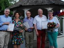 Drie leden van verdienste bij De Spanvöggel in Oldenzaal