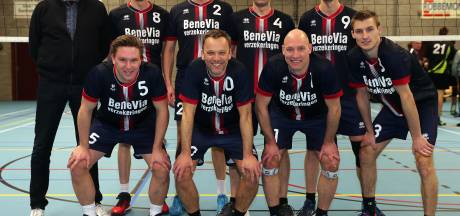 Volleybalteam BeneVia blijkt hoe ouder, hoe beter te worden