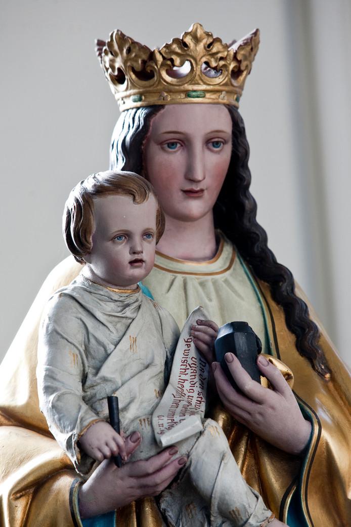 Maria met de inktpot in Aardenburg.