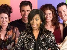 'Michelle Obama te zien in doorstart van tv-komedie Will & Grace'