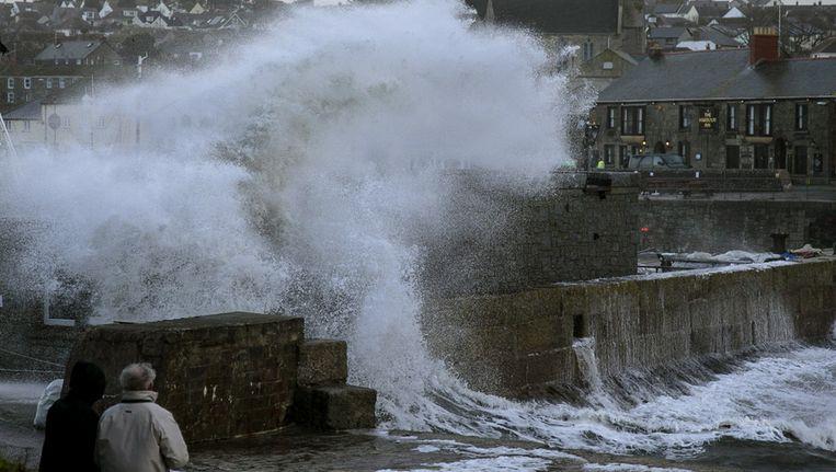 In Groot-Brittannië wordt gewaarschuwd voor ernstige overstromingen. Beeld getty