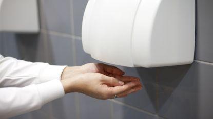 Gemeente schaft handdrogers aan toiletten af