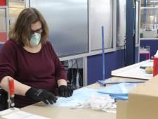 Sociaal werkbedrijf in Boxtel maakt tijdelijk gezichtsbeschermers