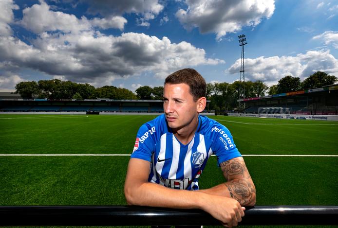 Joey Sleegers is terug bij FC Eindhoven.