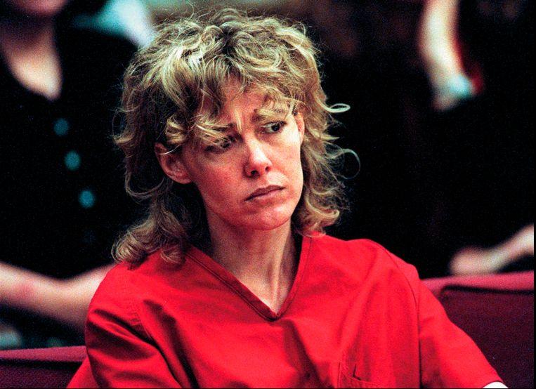 Mary Kay Letourneau (toen 35) in 1998 tijdens een hoorzitting in Seattle.