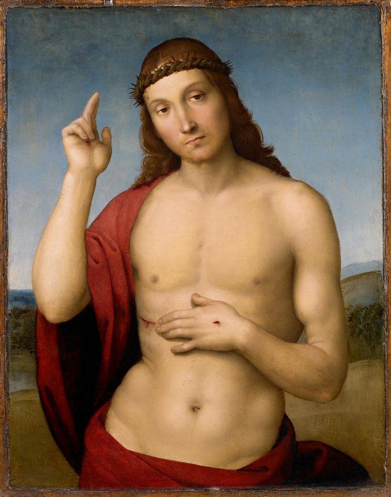 Zegenende Christus van Rafael Beeld Rijksmuseum Twenthe