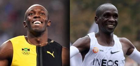'Bolt was de vedette, Kipchoge meer een zenmonnik'