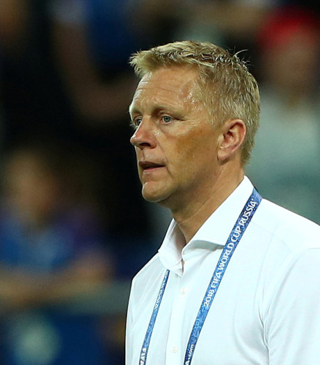 Heimir Hallgrimsson weg bij IJsland