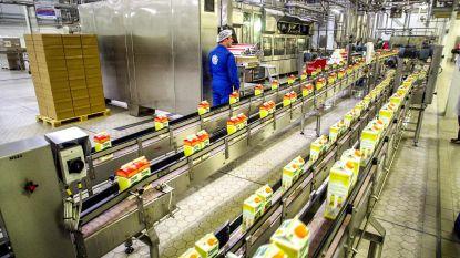 Elke week 5 miljoen liter fruitsap