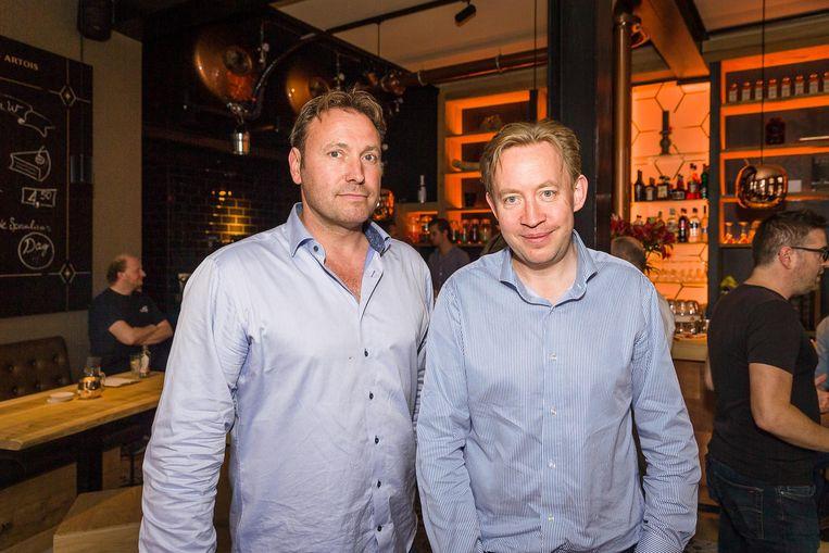 Alain De Meyer en Tim Joiris in hun nieuwe zaak Maison W.