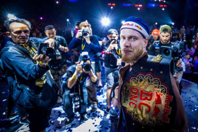 Menno van Gorp is opnieuw wereldkampioen breakdancen.