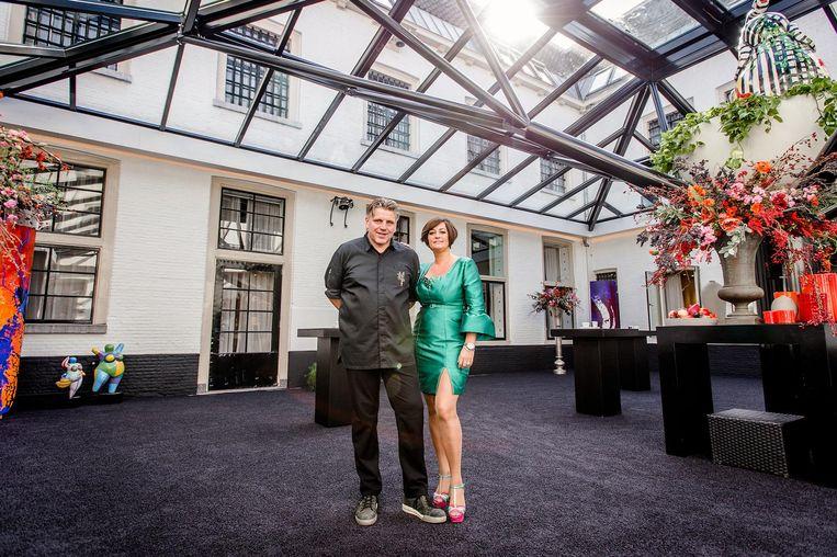 Chef-kok Jonnie Boer en zijn vrouw Therese van De Librije. Beeld anp