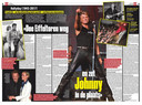 Johnny Hallyday vu par la Flandre: dans Het Laatste Nieuws, on revient sur sa vie dans deux pages spéciales.