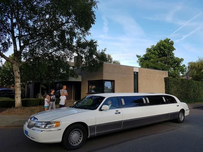 Een heuse limousine was waarschijnlijk het langste vervoersmiddel