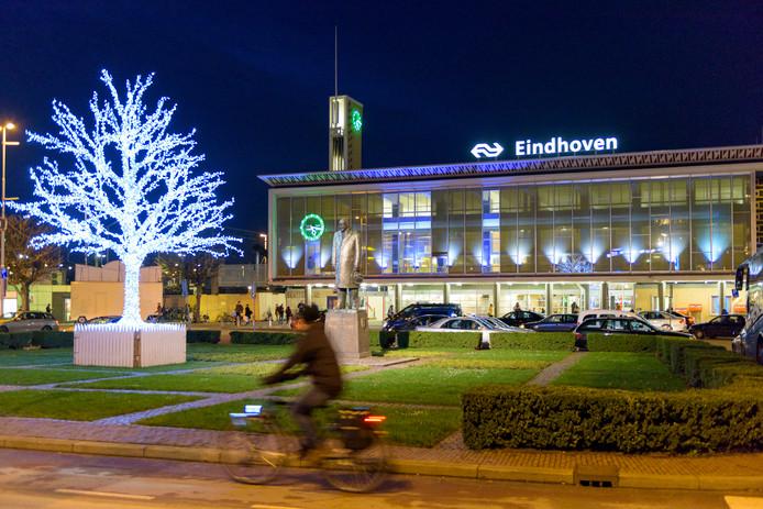 Stationsplein in Eindhoven (archieffoto)