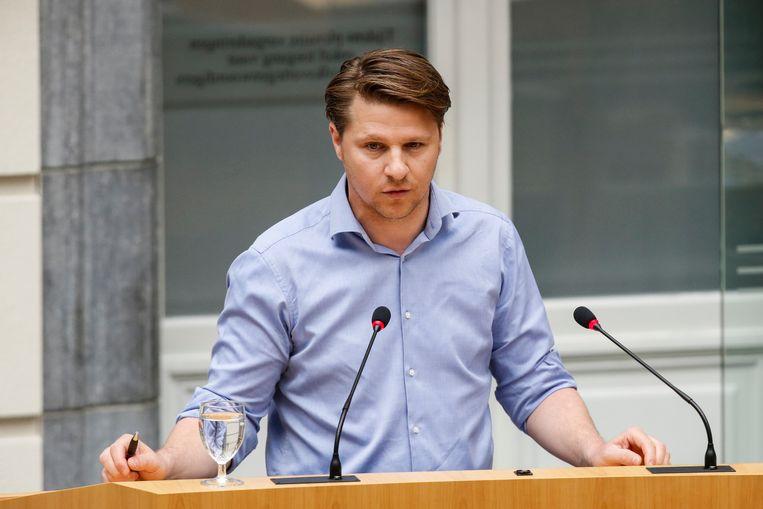 N-VA-parlementslid Axel Ronse.