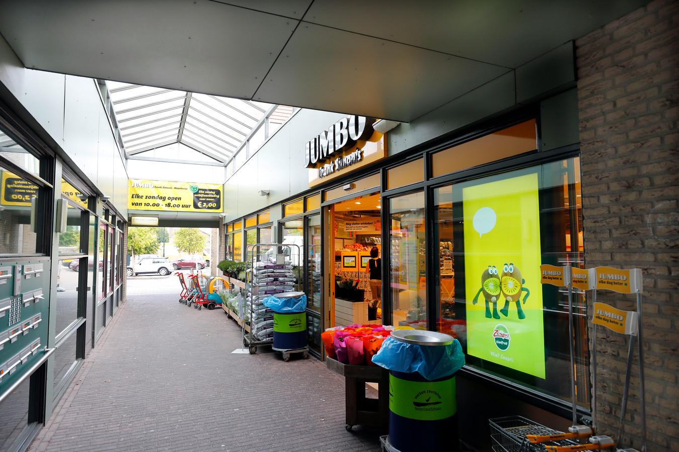 De Jumbo-supermarkt in Maarheeze.