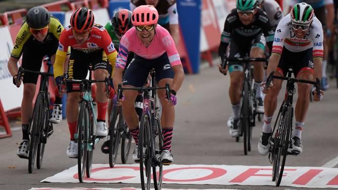 Cort Nielsen pakt etappezege in Ciudad Rodrigo, Roglic neemt dankzij bonificaties extra voorsprong