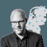 De boze burger is ver weg bij de **cabaretshow** van Klaas Dijkhoff en Arie Koomen