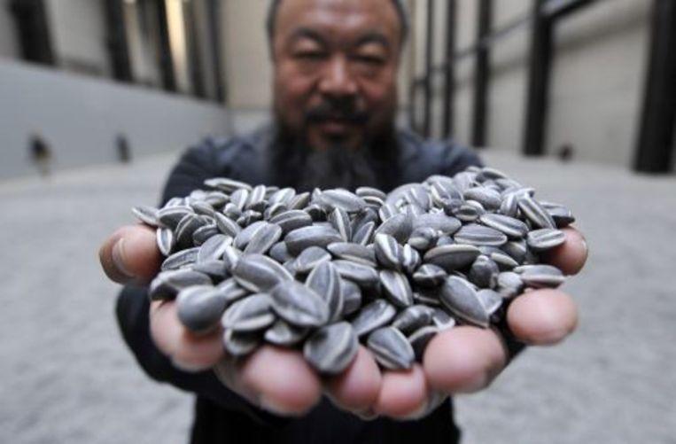 De Chinese kunstenaar en activist Ai Wei Wei. EPA Beeld