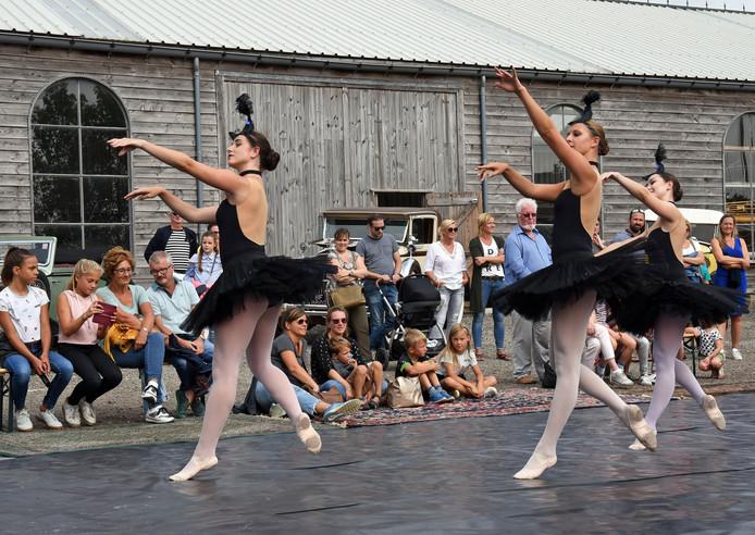 Dansers van Petrella Lion doen ook mee aan de speciale choreografie tijdens de herdenking van de Slag om de Schelde.