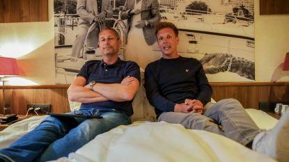 IN BEELD 'Gert Late Night': Gert en James zoeken een centrale bootgast