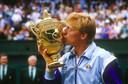 Boris Becker a gagné six tournois du Grand Chelem, dont trois fois Wimbledon (photo), dont il reste, à ce jour, le plus jeune vainqueur (17 ans et 227 jours).