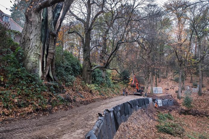 Werkzaamheden bij de Kabouterboom