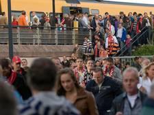 Vroeger met trein naar huis vanuit Grolsche Veste