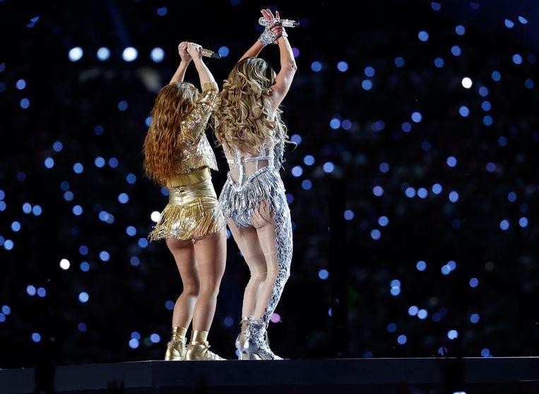 Shakira en Jennifer Lopez.