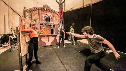 Artiesten die op Transfo wonen, trakteren op circus- en straattheaterfestival