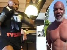 Mike Tyson is er klaar voor: 'Ongelooflijk wie er allemaal tegen mij wil vechten'