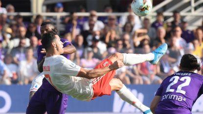 Juventus verspeelt tegen Fiorentina voor het eerst punten, De Ligt opnieuw aarzelend
