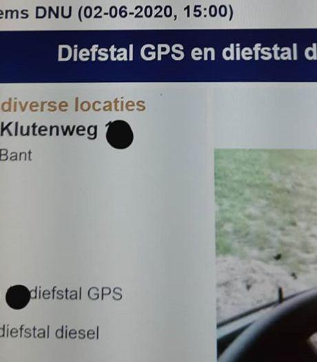 GPS-dieven slaan opnieuw toe, nu op platteland Noordoostpolder