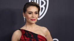Alyssa Milano had twee abortussen in korte tijd