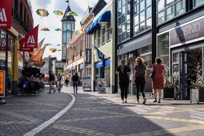 De Catharinastraat in Doetinchem. Archieffoto: Istar Verspuij