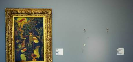 'Mogelijk niet alle schilderijen Kunsthalroof verbrand'