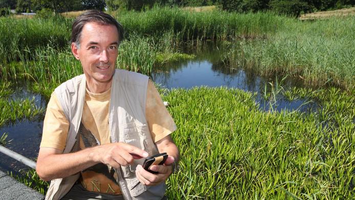 Bioloog Winfried van Meerendonk.