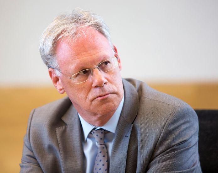 De overleden wethouder Hans Horlings.