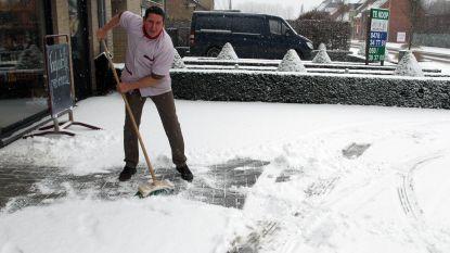 FOTO'S: Eerste sneeuw zorgt voor winterpret (en voor wat ellende)