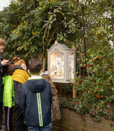 Van kijkdoos tot houten creatie: veel animo voor  kerststallenroute in Bavel