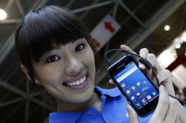 De Android-telefoon Galaxy S van Samsung. EPA Beeld
