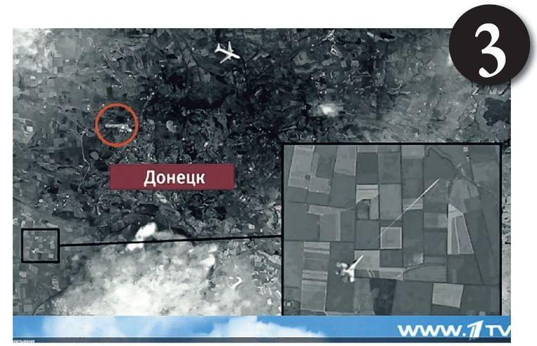 Voorbeelden van propaganda: 'MH17 is neergehaald door Oekraïne, dat bewijst ook het zwijgen van Kiev' Beeld