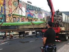 VIDEO: Exploitanten nemen Tilburgs centrum in bezit voor opbouw kermis