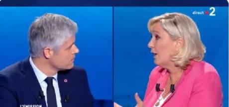 Le clash entre Marine Le Pen et Laurent Wauquiez