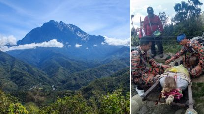 Belgische klimster (23) gered van hoogste bergtop in Maleisië